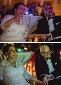 Hochzeit, Hochzeitsfotografie, Astrid Ebert Fotografie, Hochzeitfotograf Aachen, Kohlibri Aachen, Brautpaar, Lachen, Diapräsentation