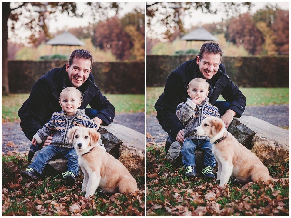 Herbst, Hund, Kind, Familie, Wald, Dreiländerpunkt, Aachen, Vaals, Astrid Ebert Fotografie