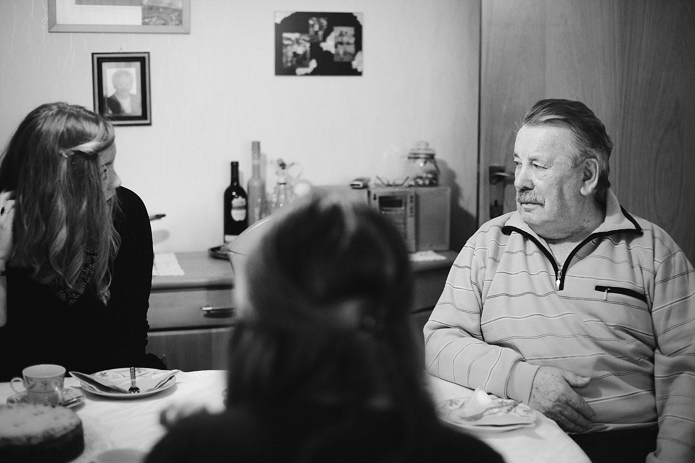 Familienbilder mit den Großeltern in Köln