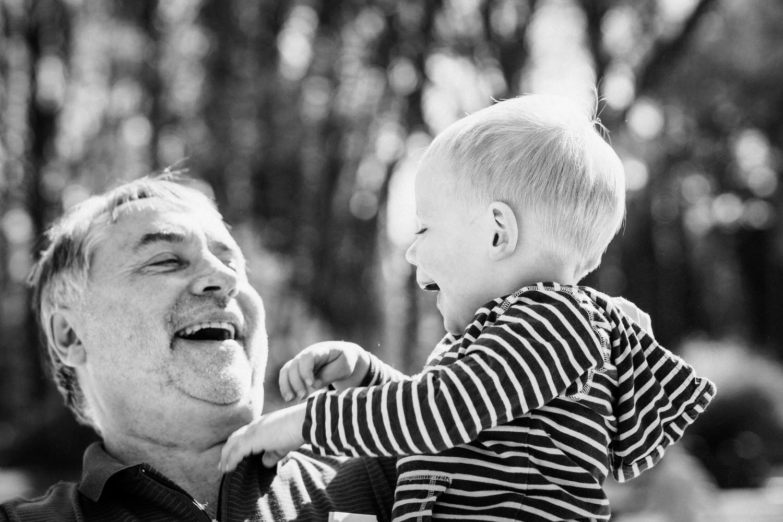 Spaß mit Opa