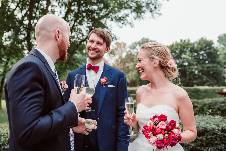 Sektempfang | Hochzeitsfotograf Aachen