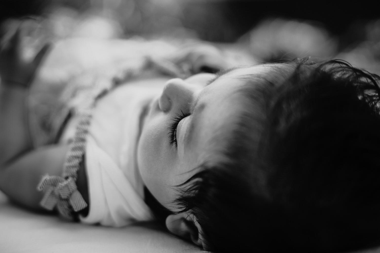 Wimpernliebe bei Babys