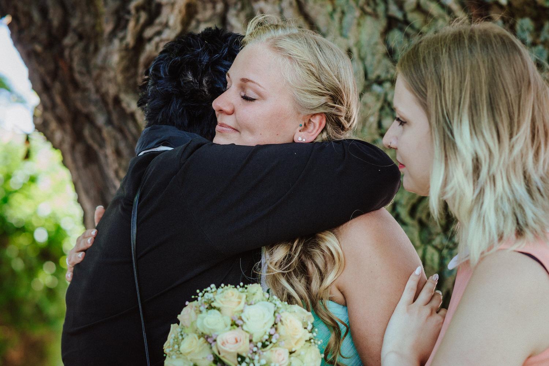 emotionale Momente am Hochzeitstag