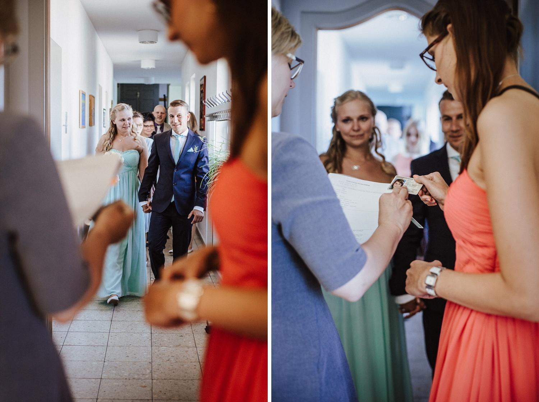 Formalitäten bei der standesamtlichen Hochzeit