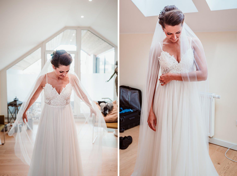 Hochzeitskleid | Getting Ready Braut | Hochzeitsfotografie Aachen