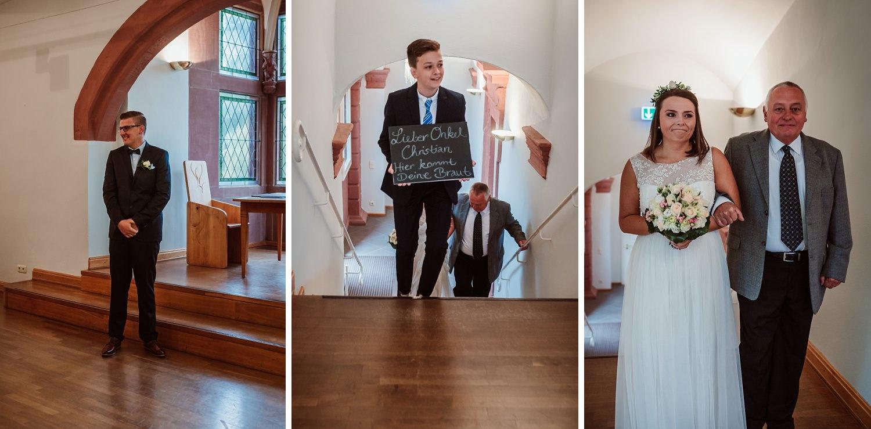 Einzug Hochzeit | Hochzeitsfotografie Aachen