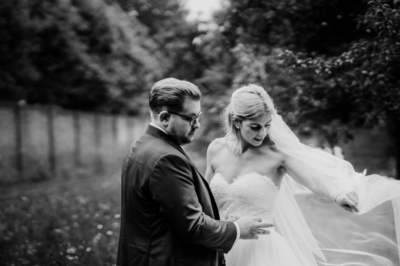 Brautpaar beim Paarshooting