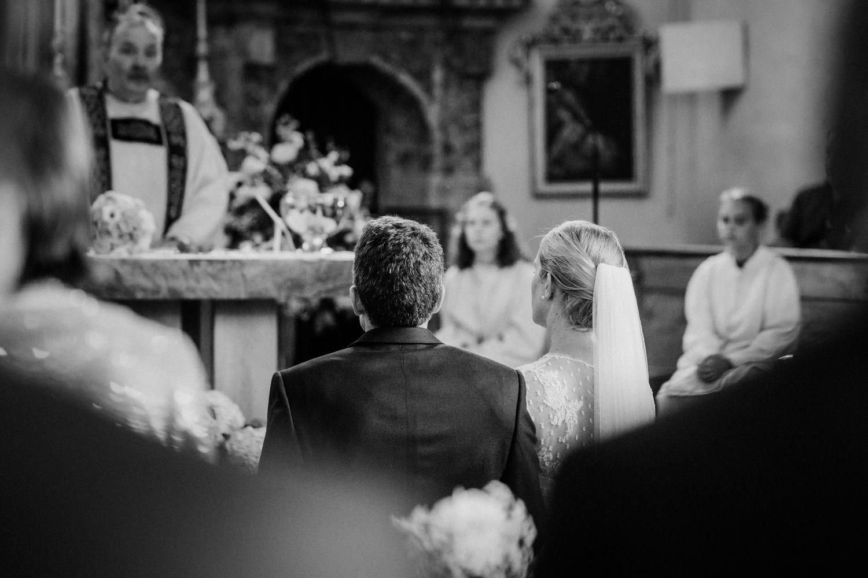 Kirchliche Hochzeit in Aurach bei Kitzbühel